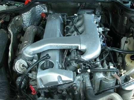 Moteur mercedes 5 cylindre turbo